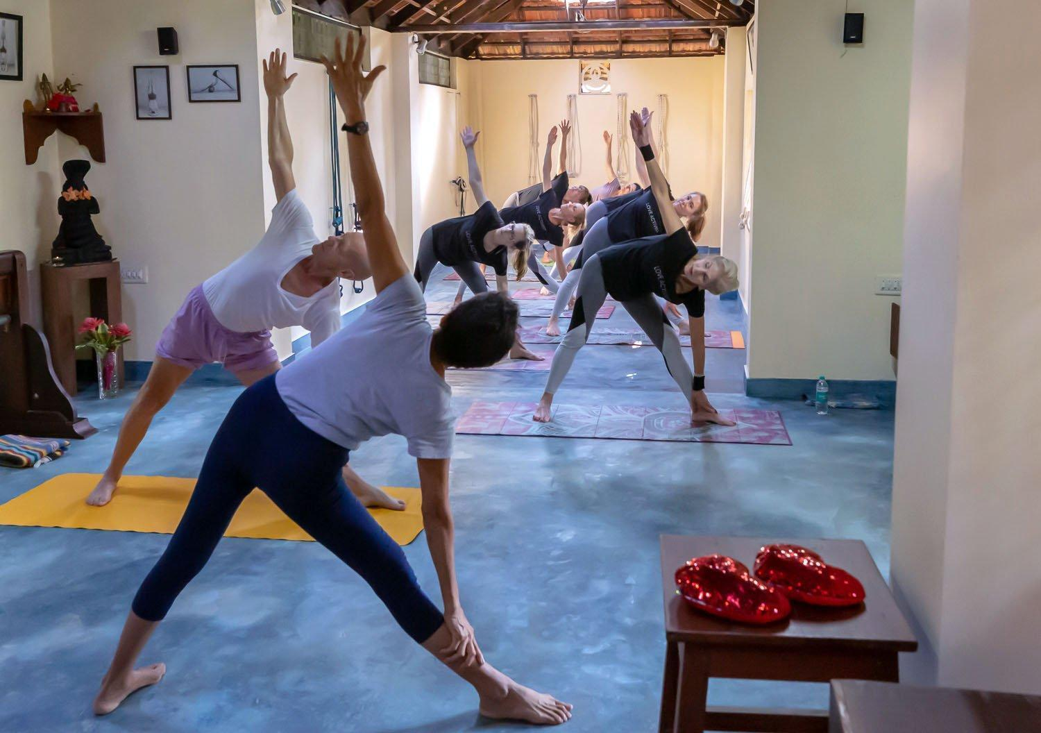 Boca Raton nonprofit uses yoga to make positive connections with other countries | Photos