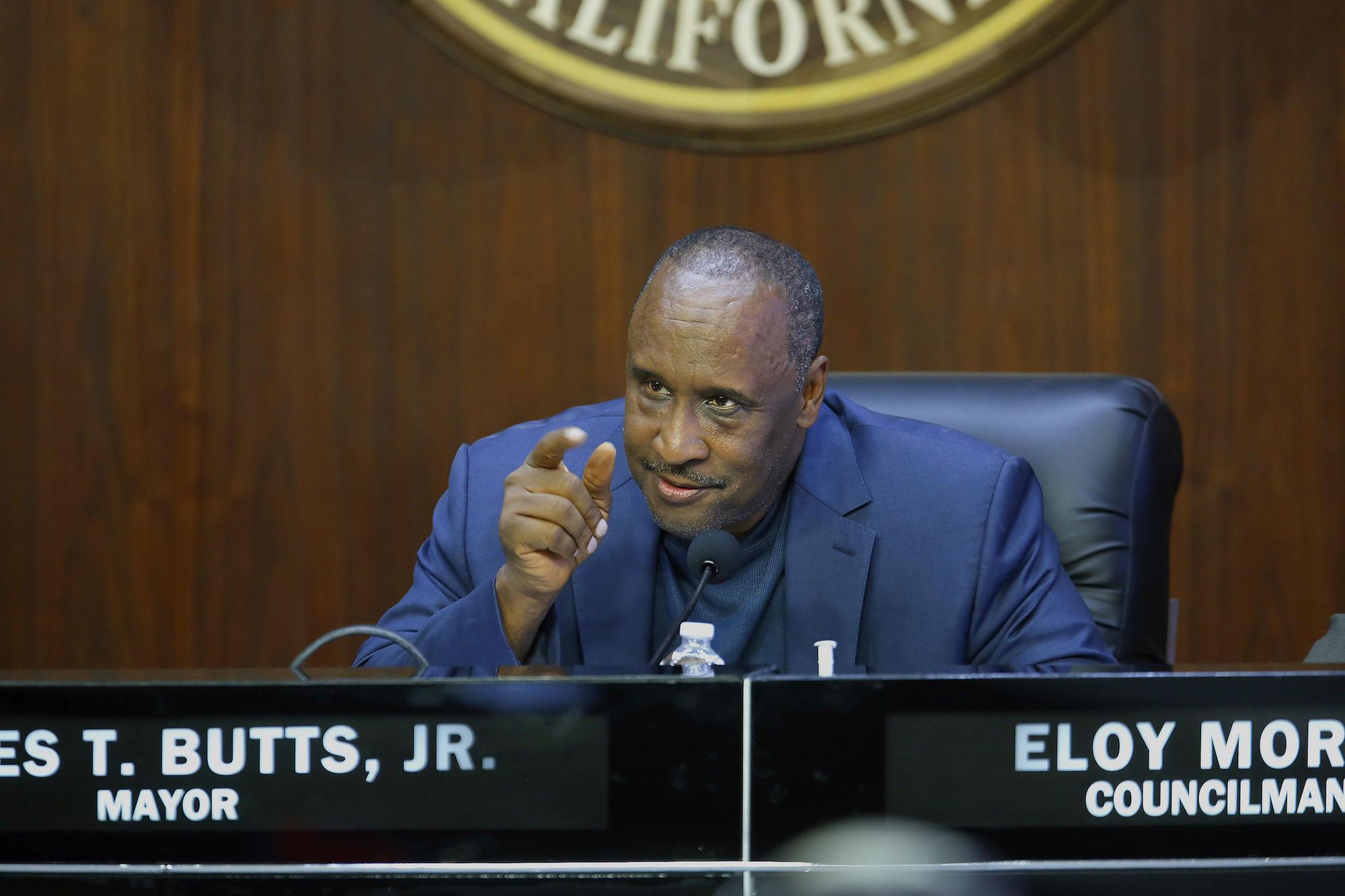 Inglewood Mayor James T. Butts