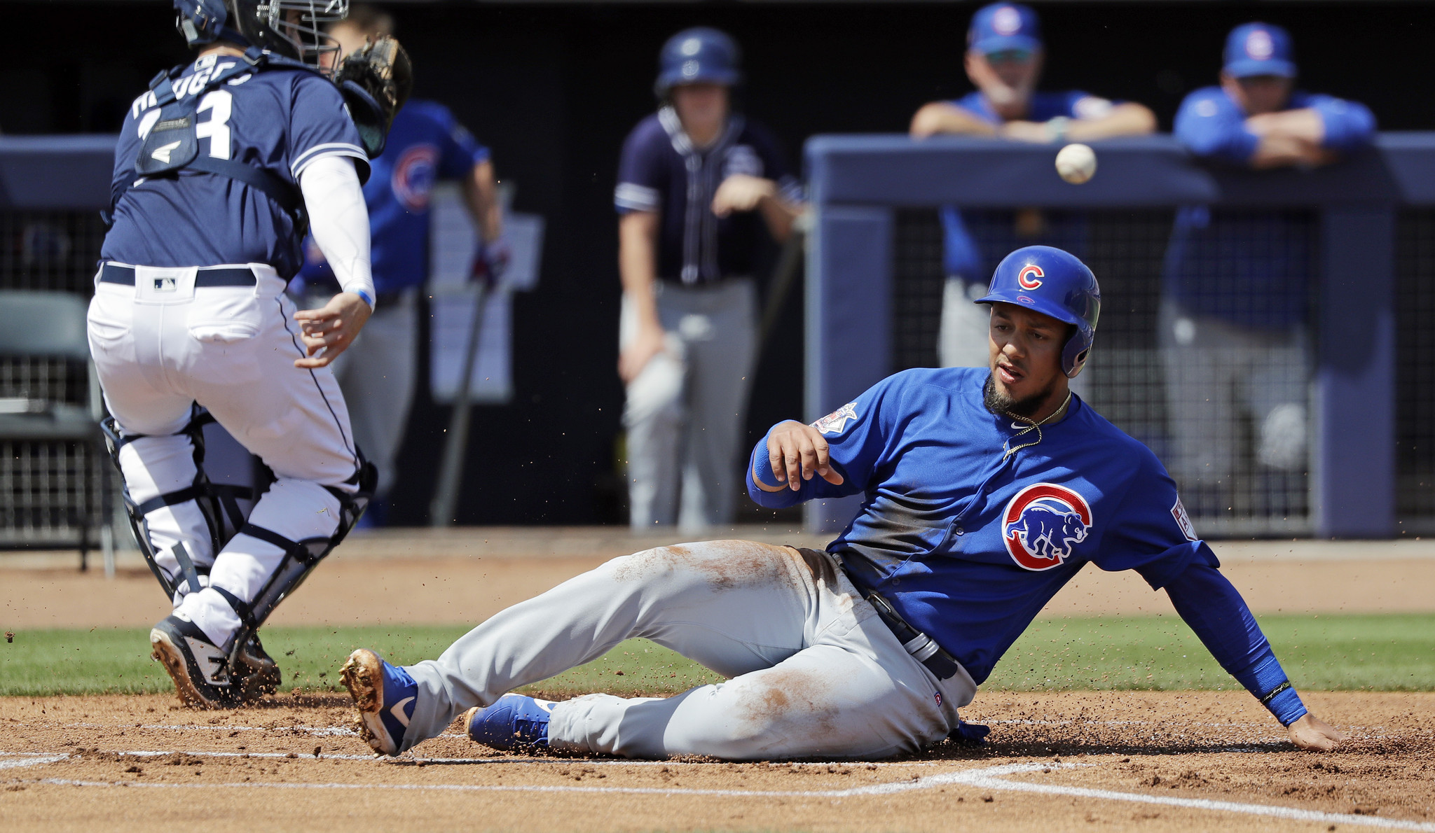 Spring training: Cubs 24, Padres 6