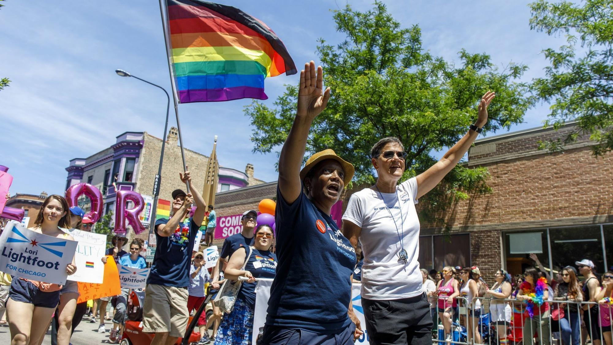 Image result for Lori lightfoot GAY