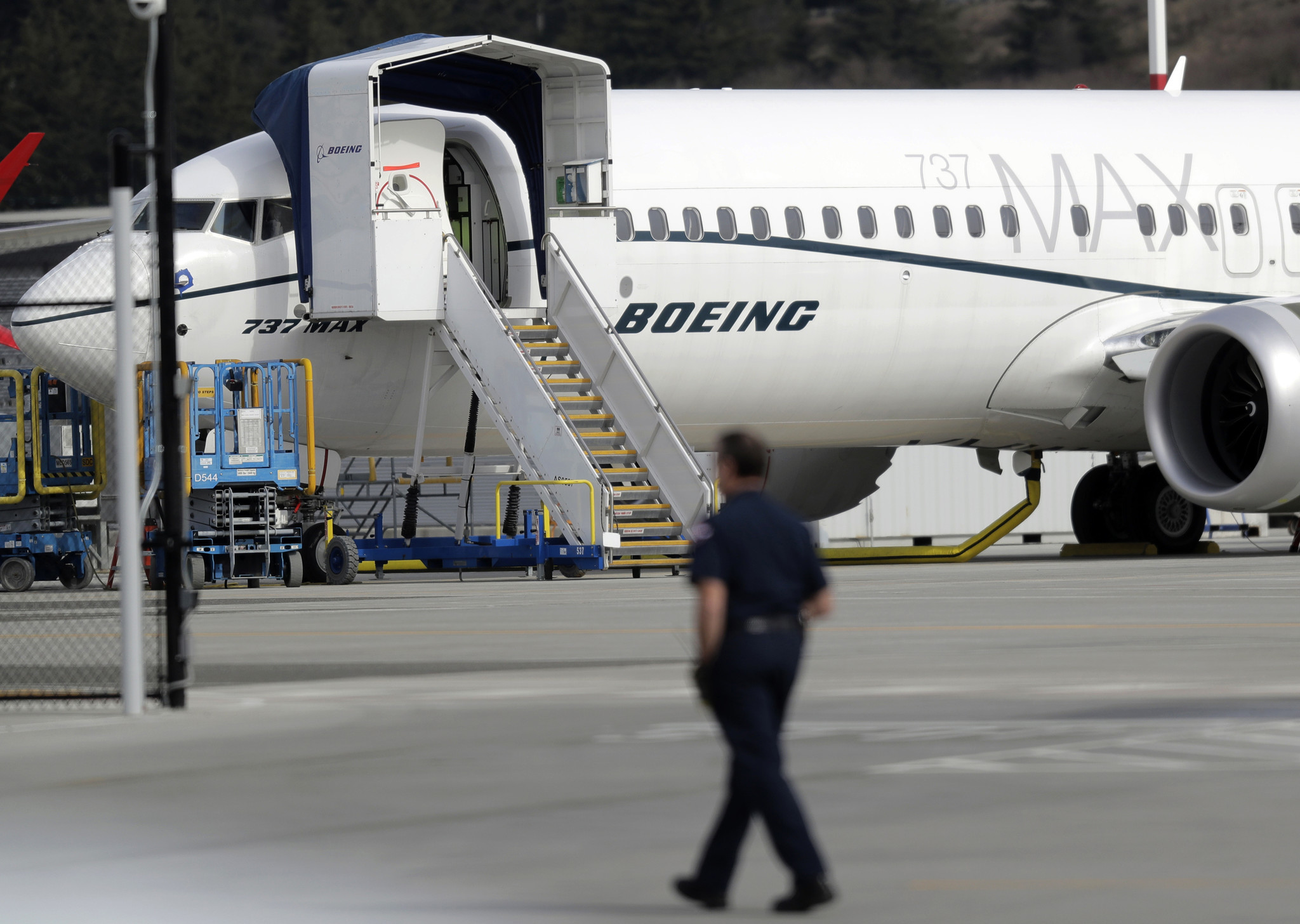 Boeing sued over claims its 737 Max 8 isn't safely designed as political woes deepen