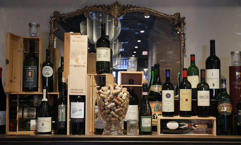 The carefully chosen list — heavily Italian, nearly all European — numbers about 40 wines.