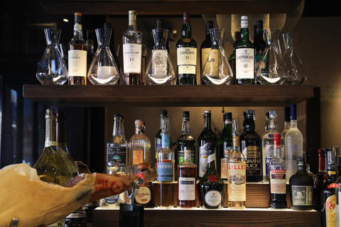 Besides wine, Joe's Importsoffers a dozen cocktails, plus imported beer.