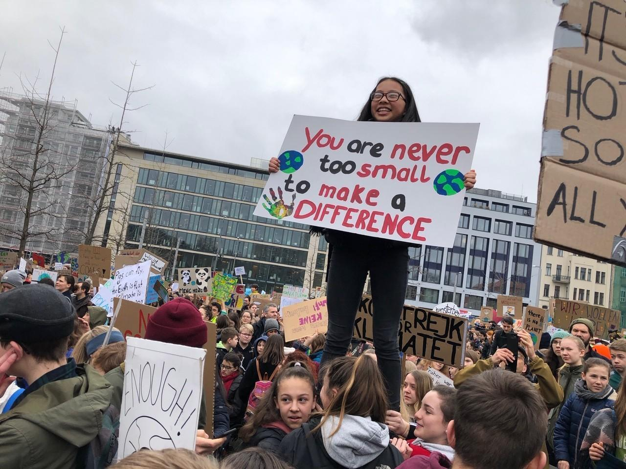 German students again march over climate change: 'The older generations have failed'