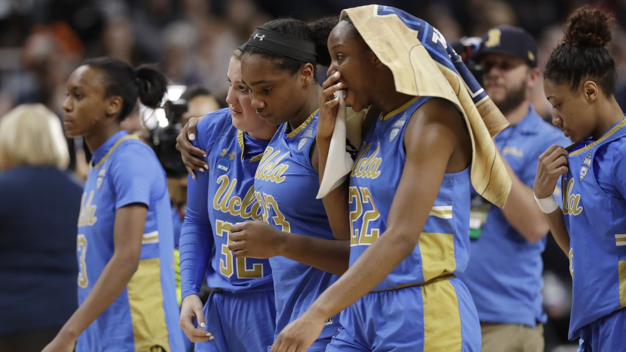 The Sports Report: UCLA's run comes to an end
