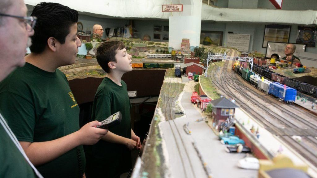 Model railroad club opens students' eyes to career options. 'We put the Super Glue in the right places.'