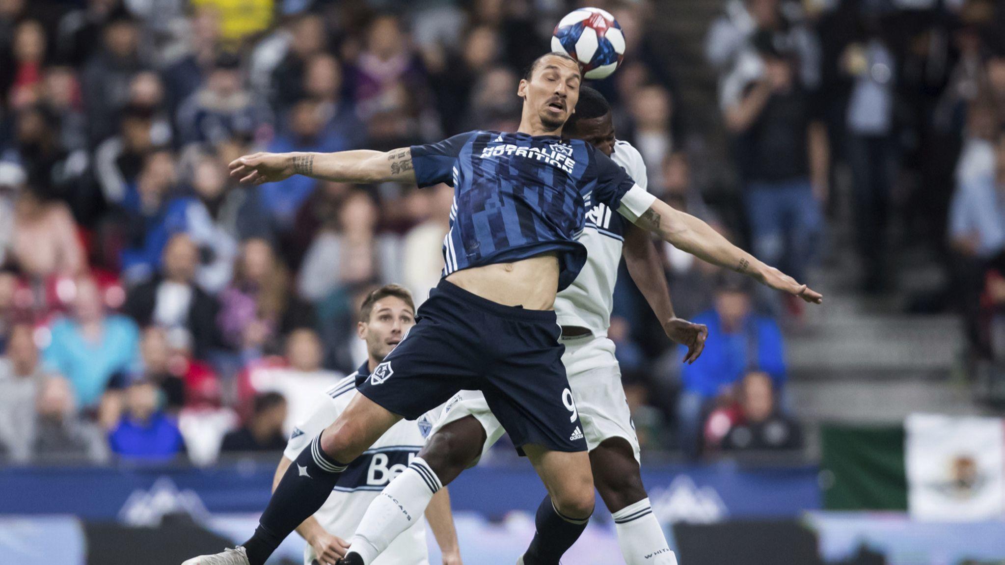 Zlatan Ibrahimovic again leads Galaxy over Whitecaps