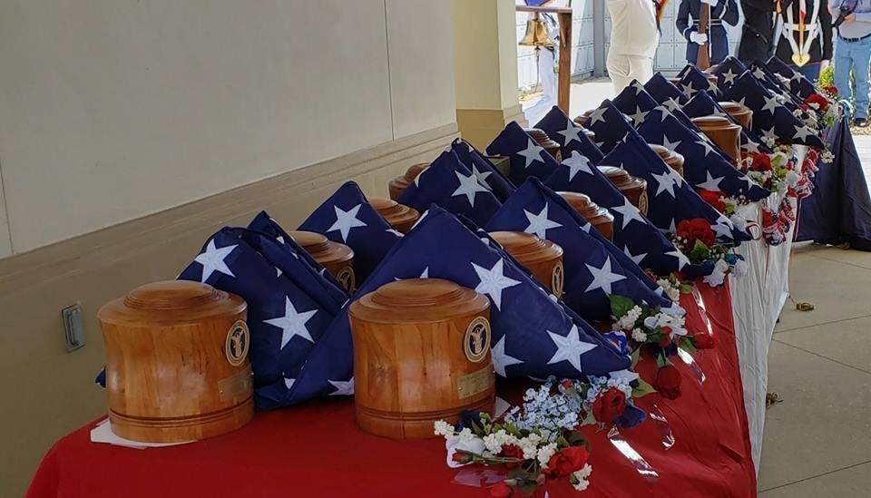 Full military honors for veterans whose remains were left unclaimed
