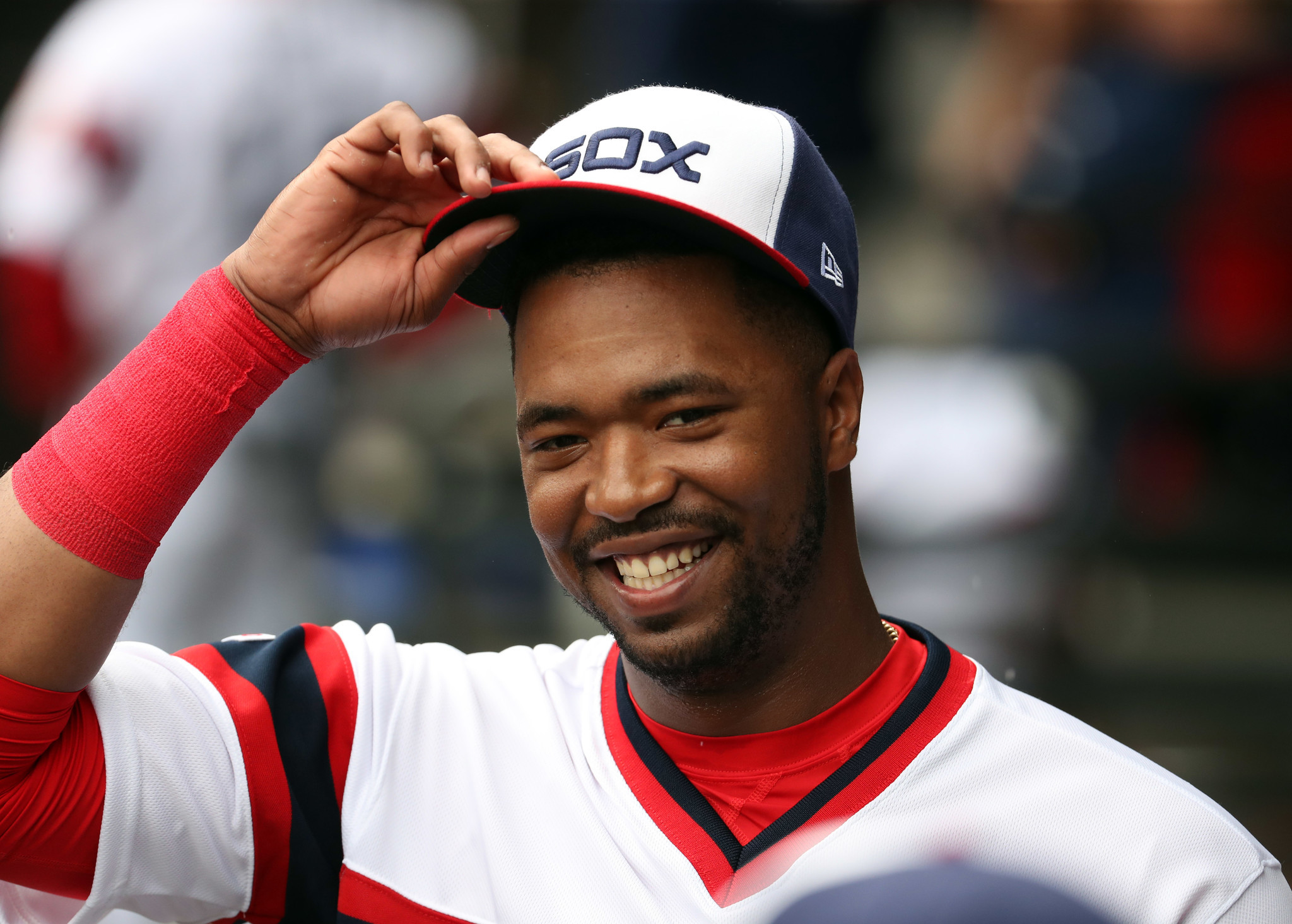 White Sox rookie Eloy Jimenez to miss Orioles series after being placed on bereavement list