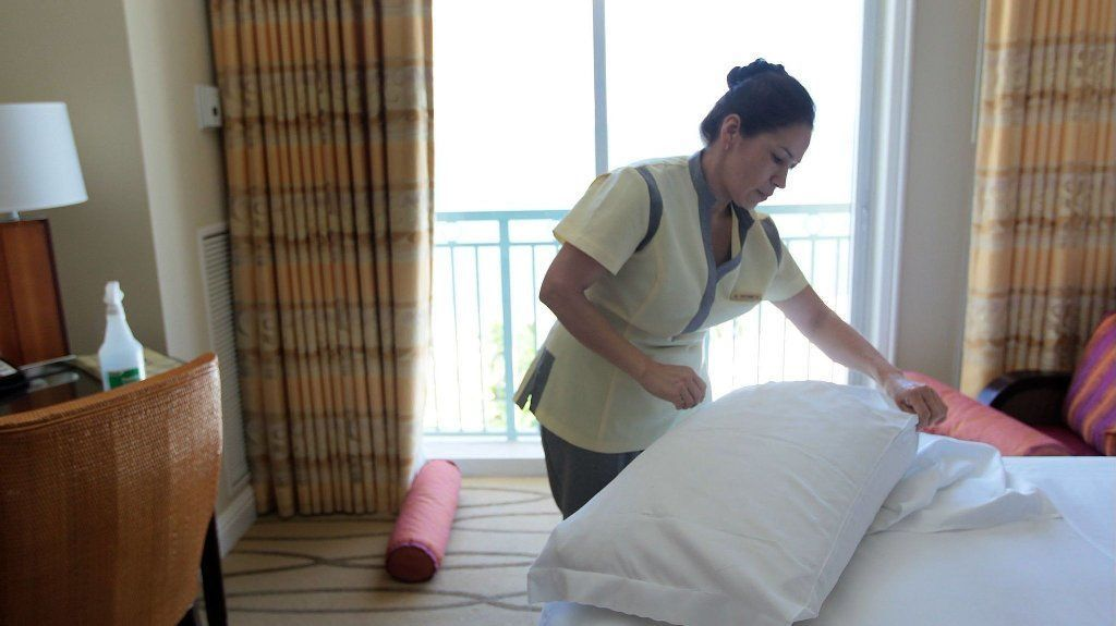Most of us don't tip our hotel housekeepers. Shame on us.