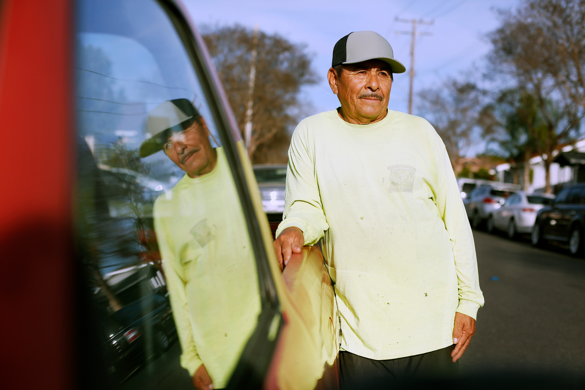 When a Santa Ana gardener's truck got stolen, his community rallied behind him