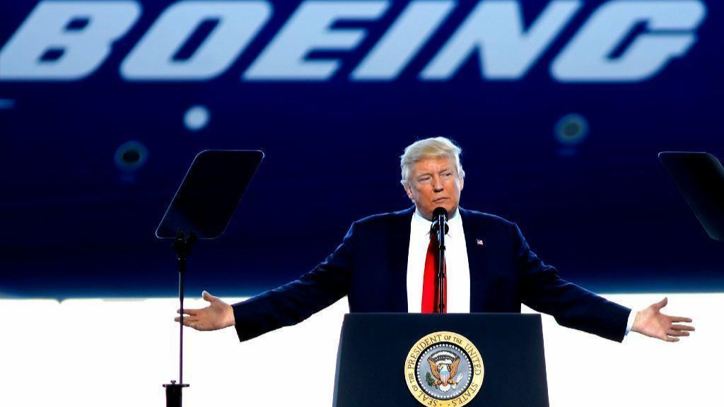 Trump offers Boeing advice: Fix, then rebrand 737 Max jets