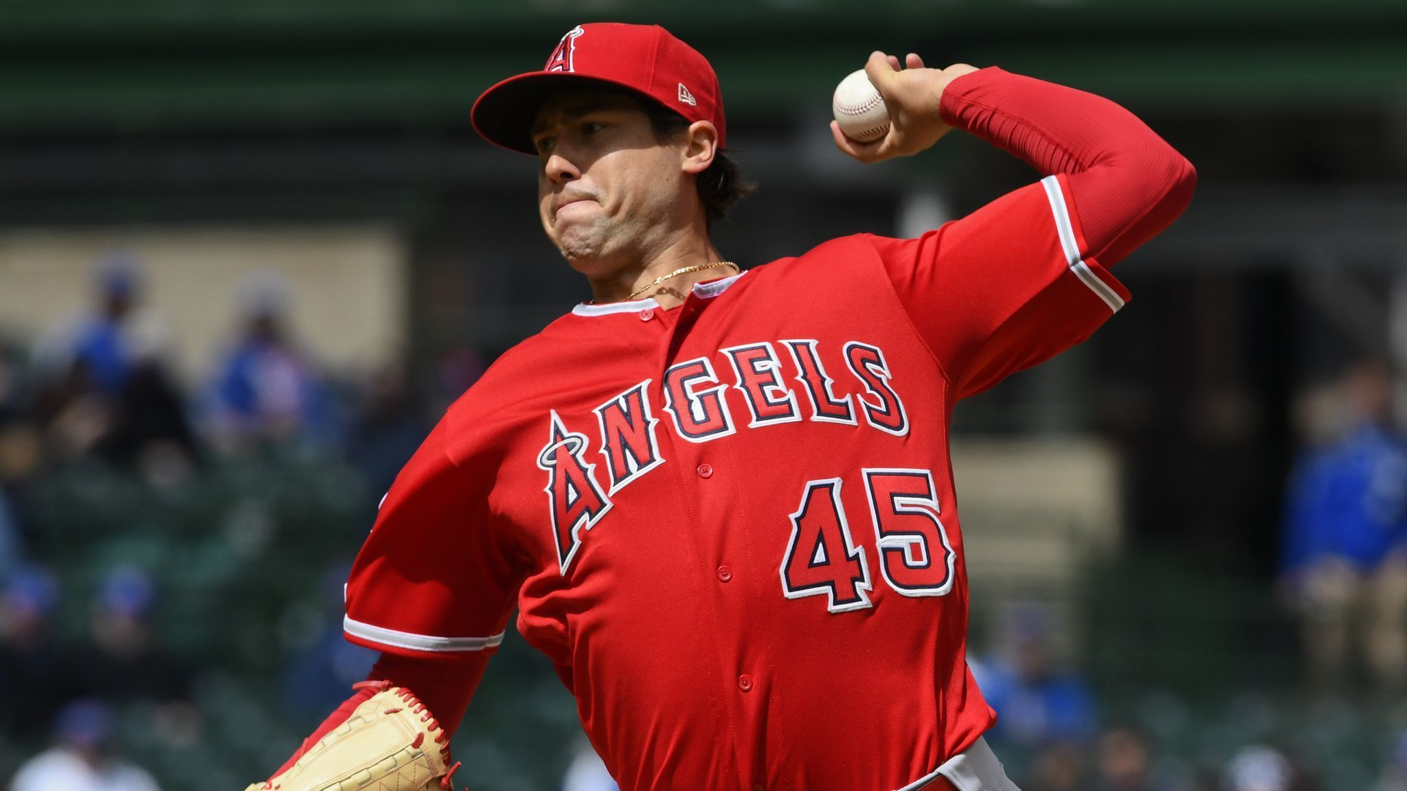 Angel starter Tyler Skaggs goes on injured list with ankle sprain