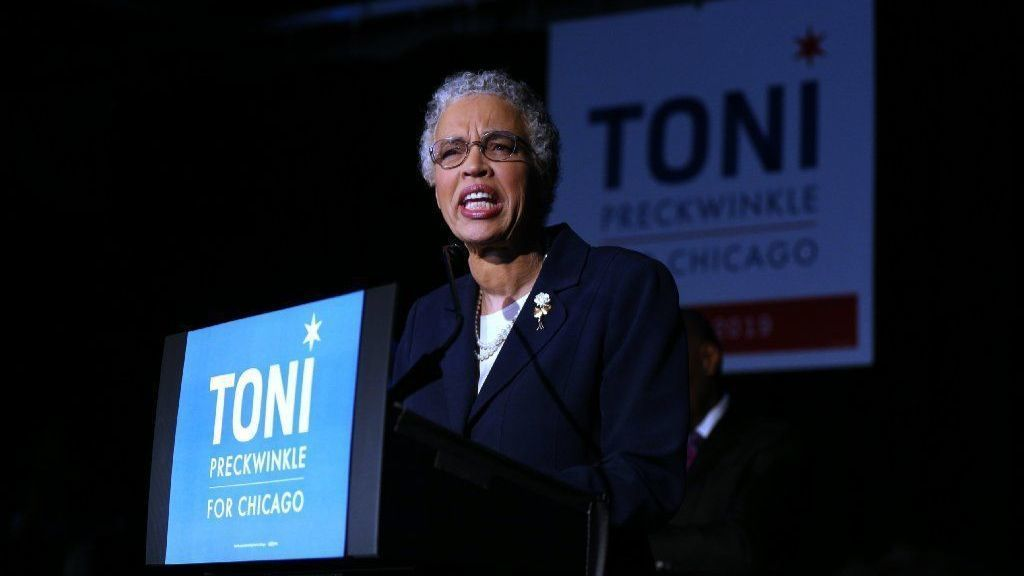 Report shows $40K payment made to Toni Preckwinkle's former top adviser fired for social media post