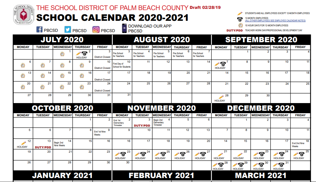 Palm Beach and Broward parents resist early school calendar start dates