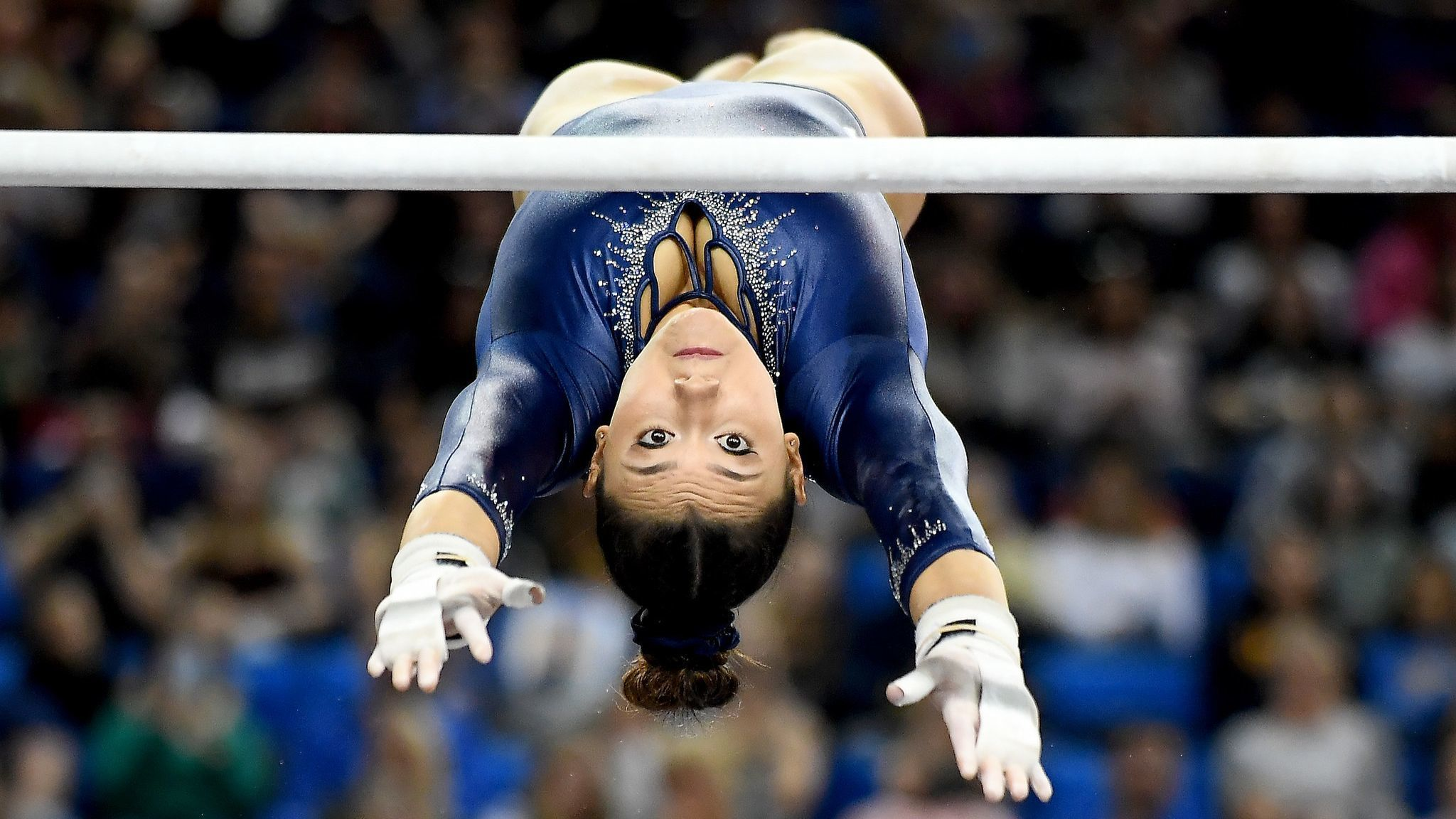 Kyla Ross, UCLA's most dominant gymnast, continues to keep fans spellbound