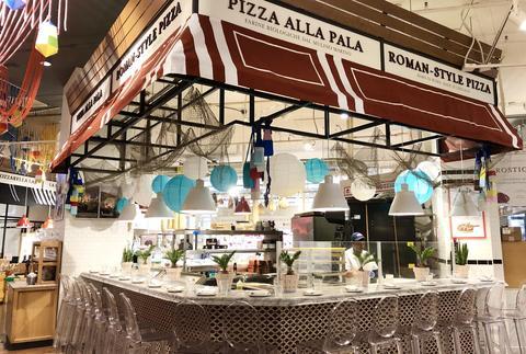Bar Sabbia at Eataly is open at 11 a.m. daily.