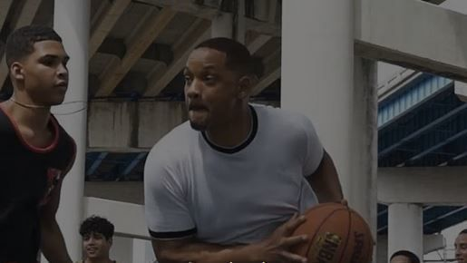 Watch Will Smith show off basketball moves during filming of 'Bad Boys For Life'
