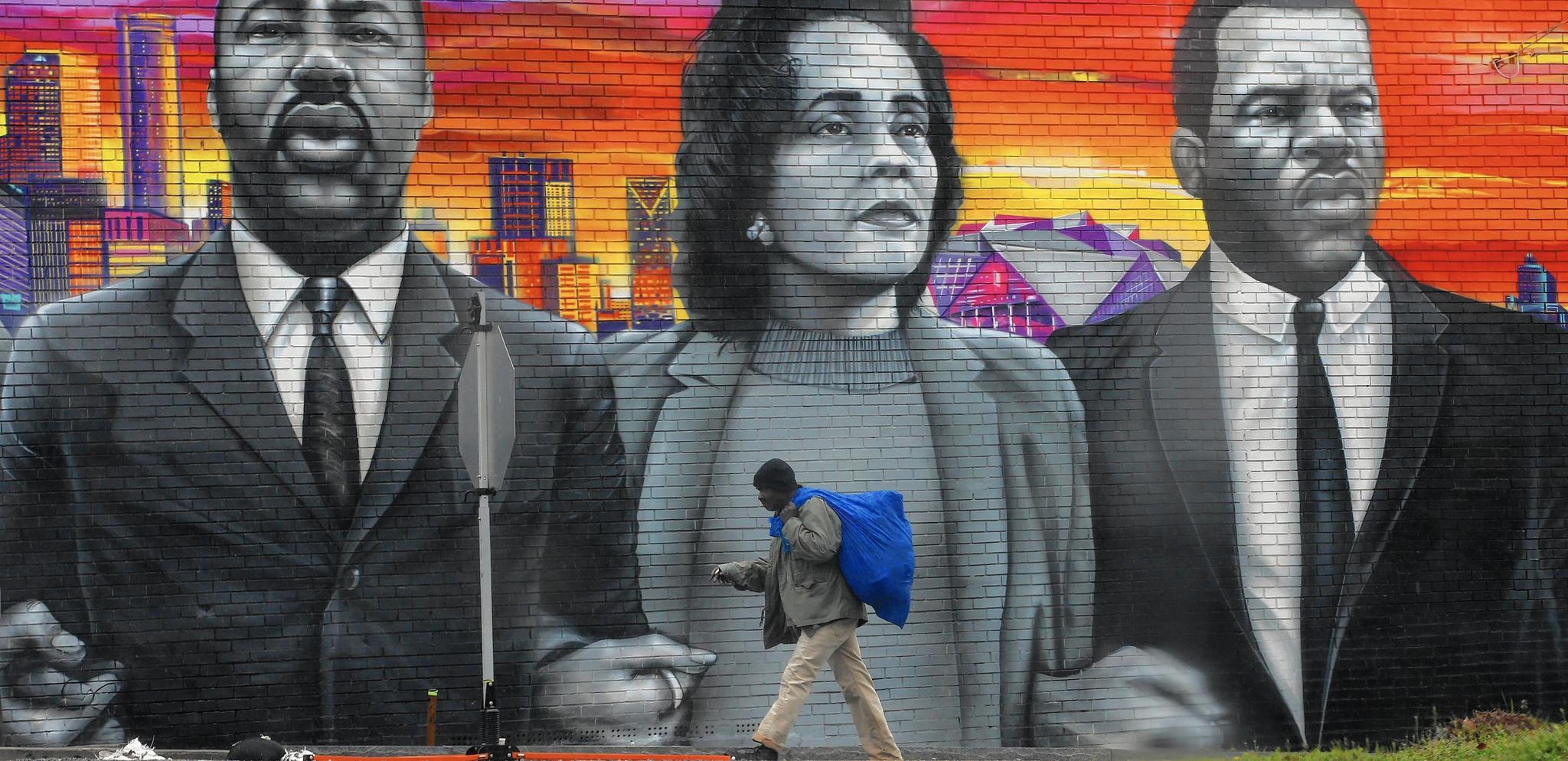 Atlanta's public art collection grows, with murals inspired by civil rights, social justice — and the Super Bowl