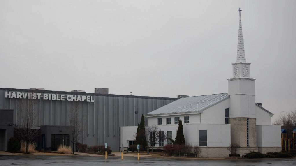 Harvest Bible Chapel's membership in national financial accrediting group terminated