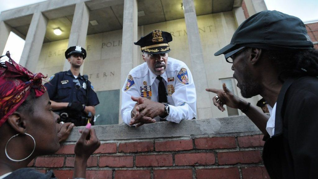 Acting Deputy Commissioner Melvin Russell to leave Baltimore Police Department