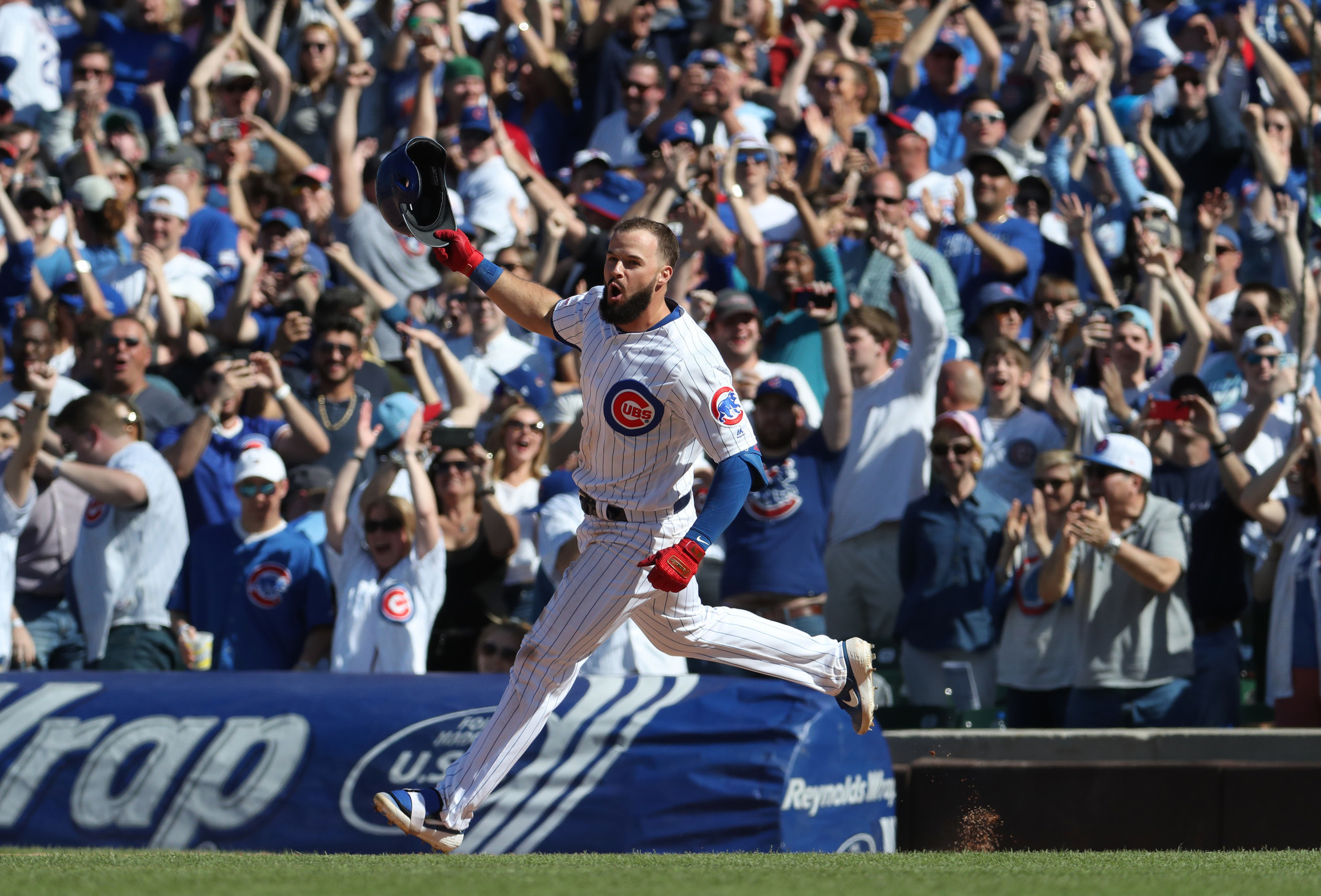 David Bote delivered another walk-off hit for the Cubs. Then he rushed to O'Hare for a flight to Colorado, where his wife is about to give birth.