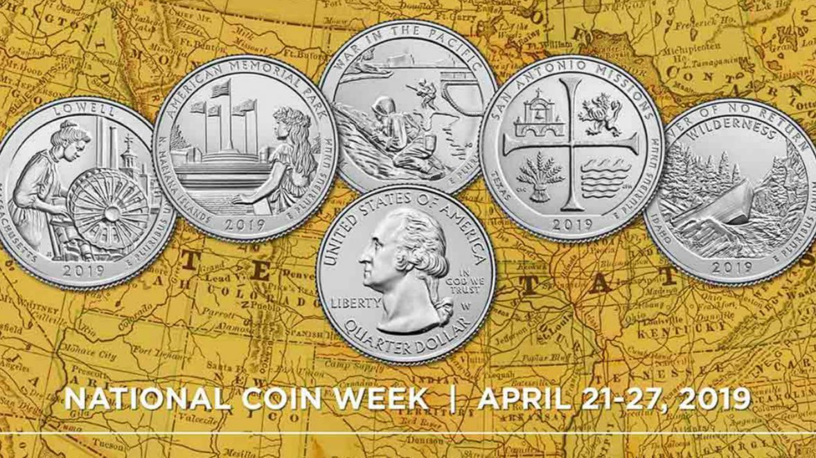 Check your pocket change during the Great American Coin Hunt this week