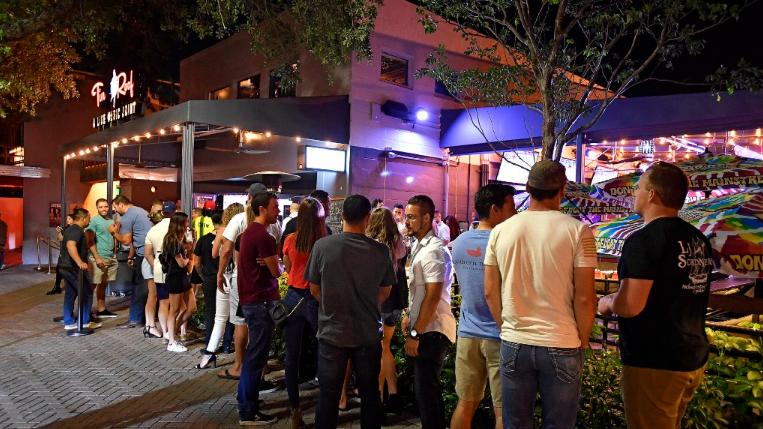 Overflowing downtown clubs catch firefighters' attention