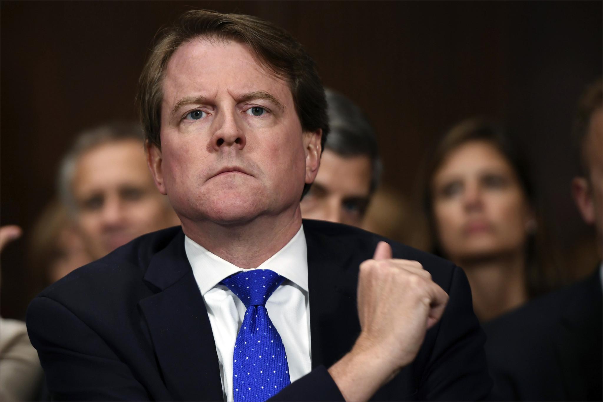 Democrats subpoena former White House Counsel Don McGahn, but downplay Trump impeachment talk