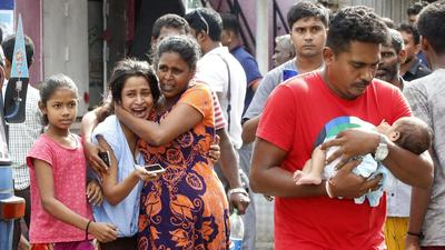 'A lake of blood': Sri Lanka's Christians mourn victims of Easter bombings
