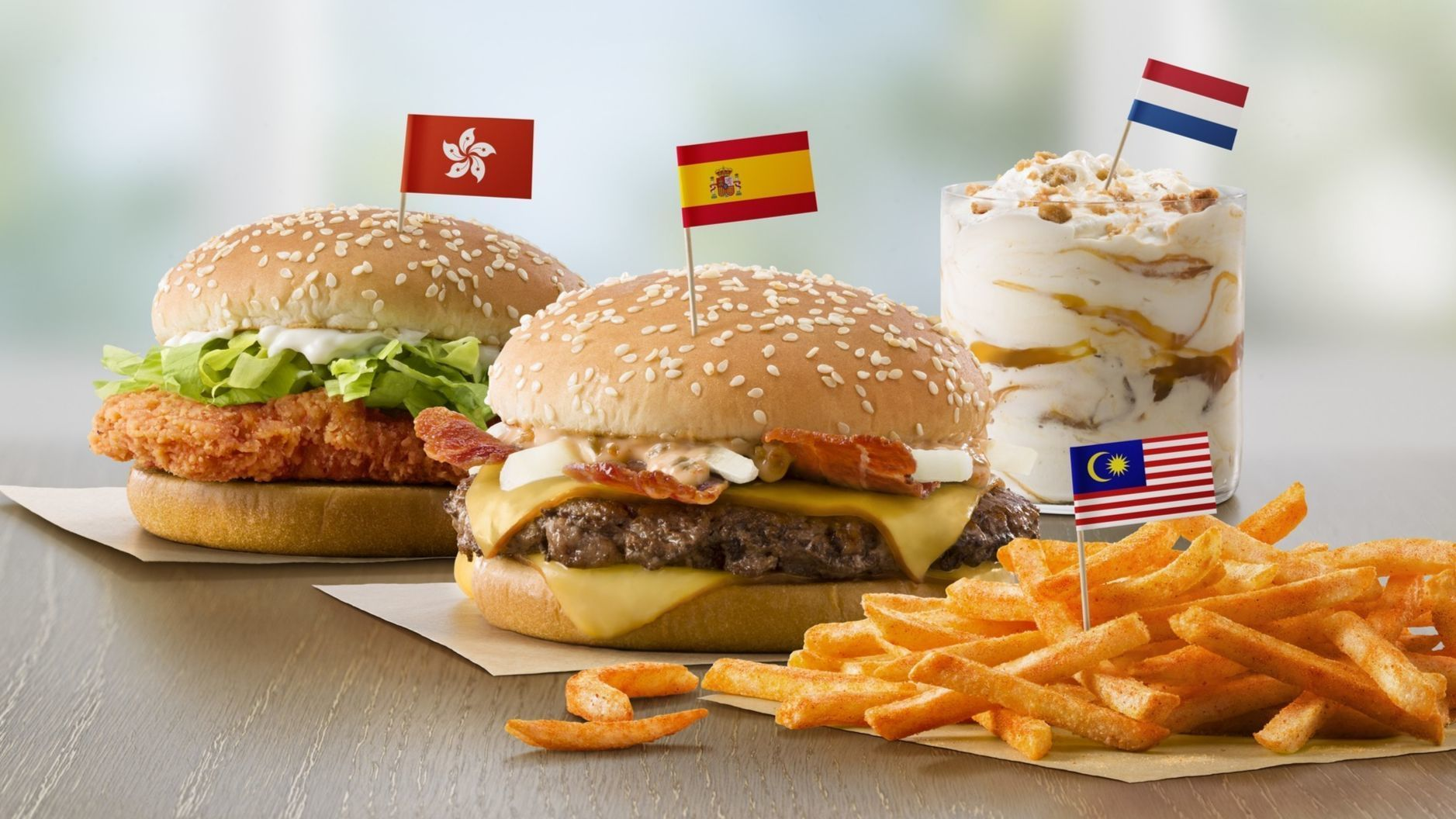 McDonald's adding global favorites Dutch Stoopwafel McFlurry and Grand McExtreme Bacon Burger from Spain to menus