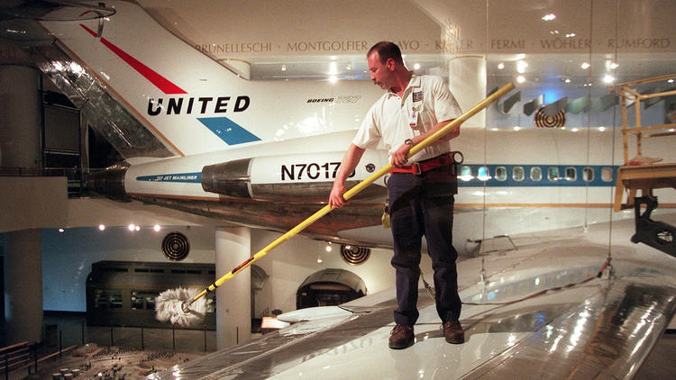 United Airlines aircraft through the years