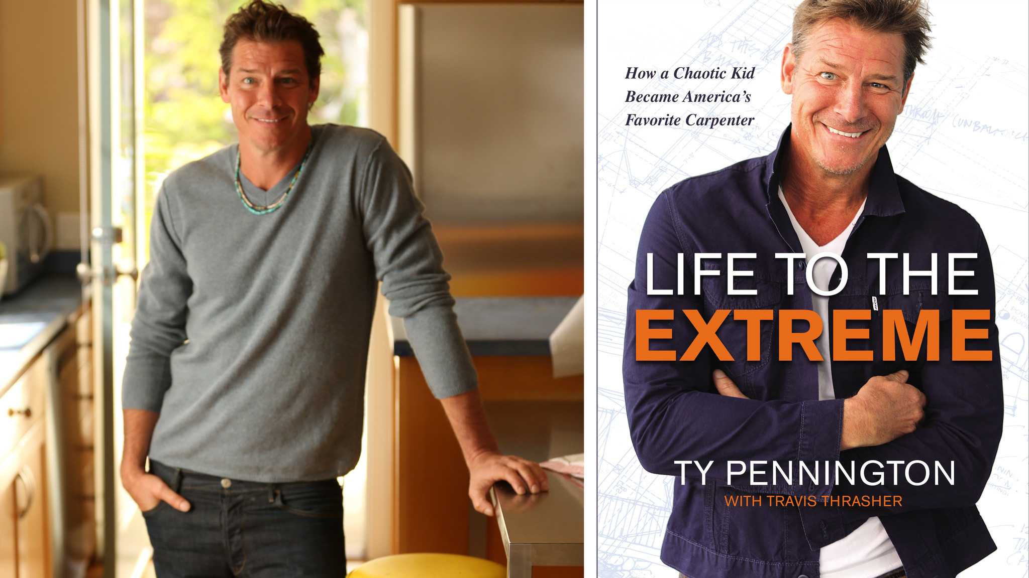 Ty Pennington talks 'Trading Spaces' reboot, living with ADHD and writing a book in 7 days