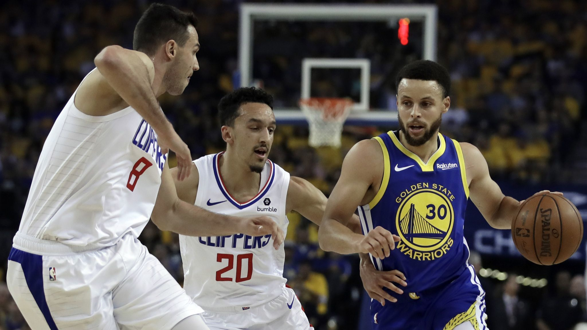 The Sports Report: Clippers shock Warriors, force Game 6