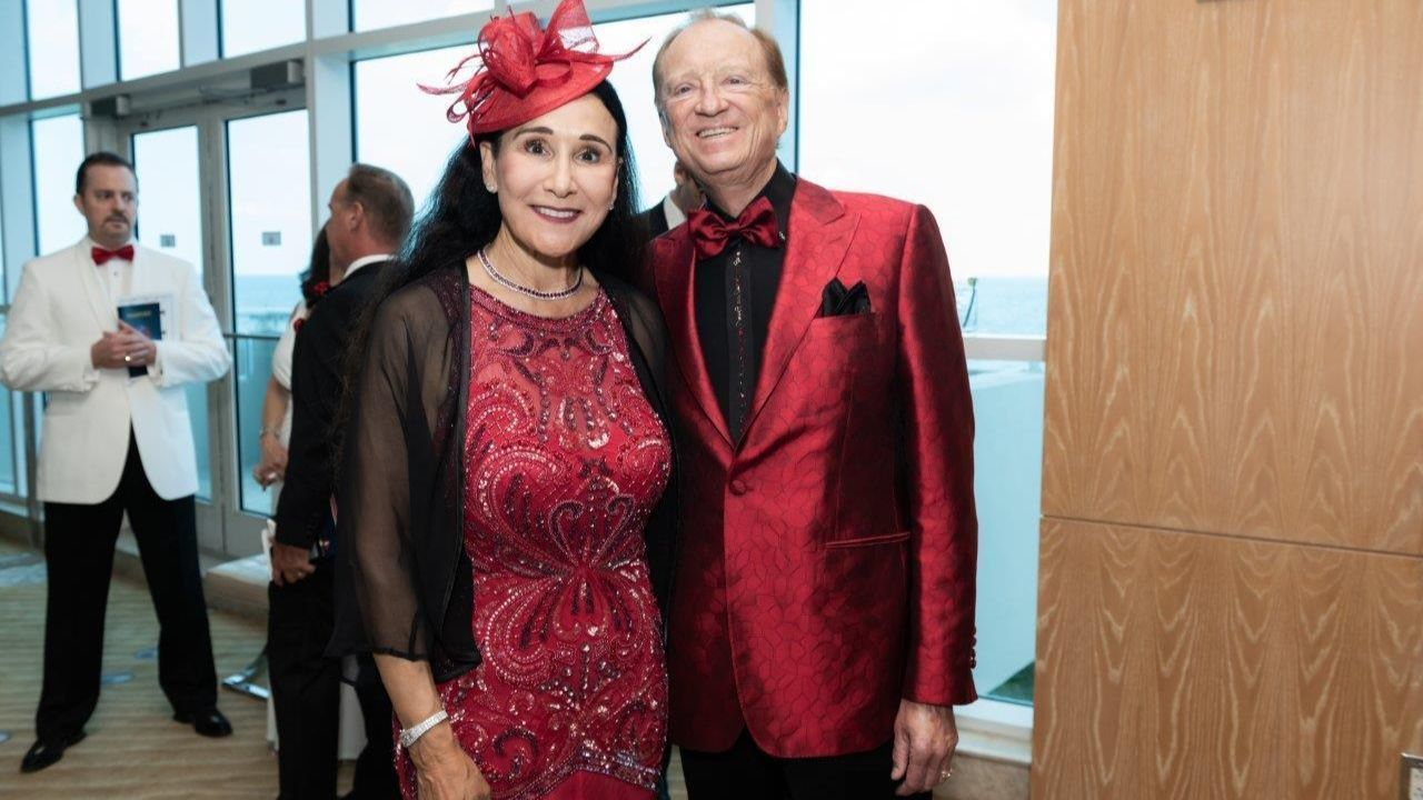 Ball guests dine and dance for American Heart Association