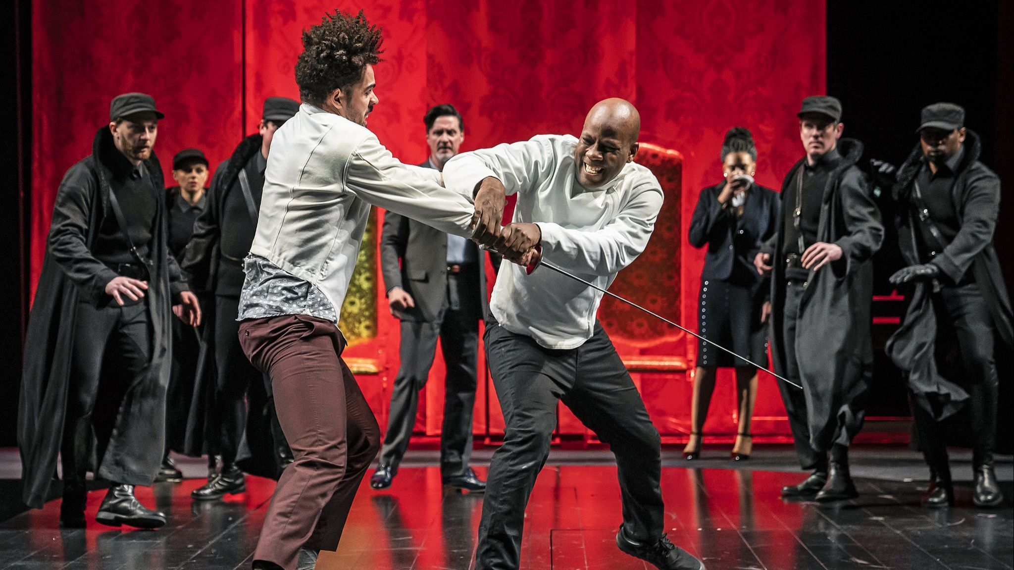 At Chicago Shakespeare Theater, this 'Hamlet' is like a guy you know, and you feel his grief