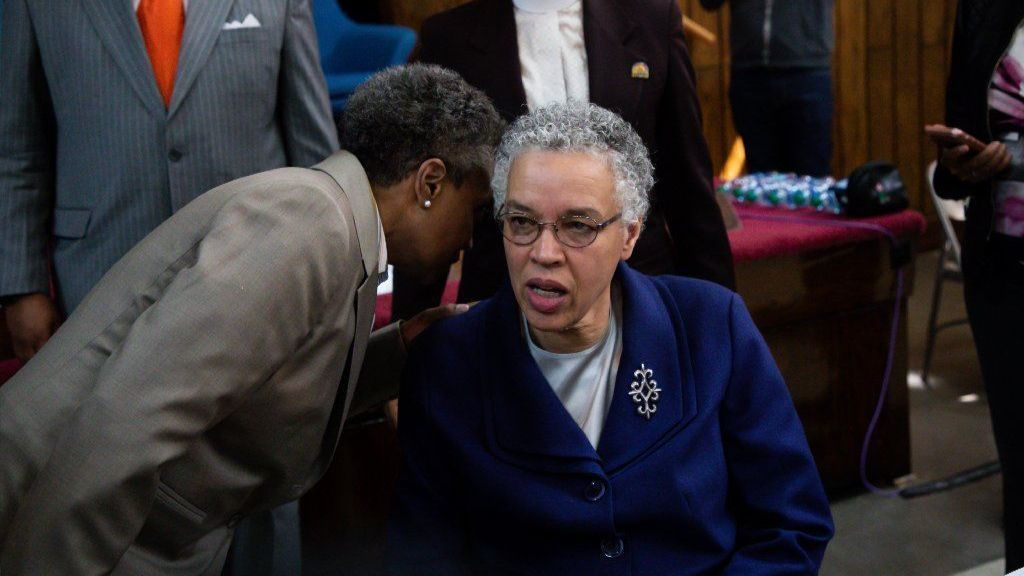Mayor-elect Lori Lightfoot's advice to Toni Preckwinkle on donations tied to Ed Burke: 'Get rid of the money'