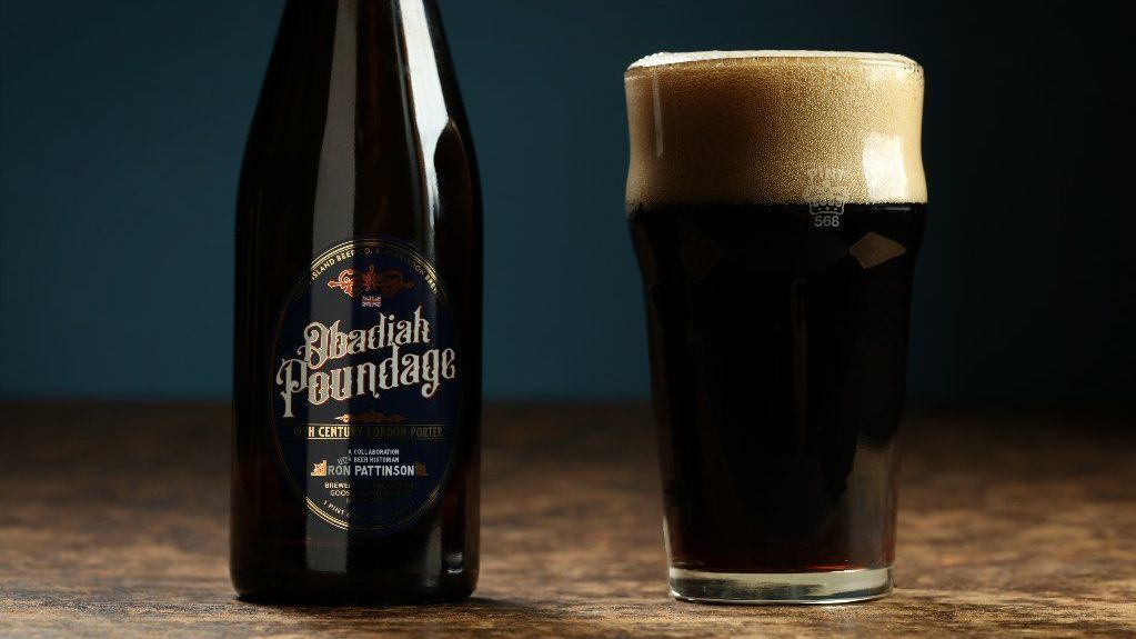 What did English porter taste like in 1840? Goose Island finds out with Obadiah Poundage.