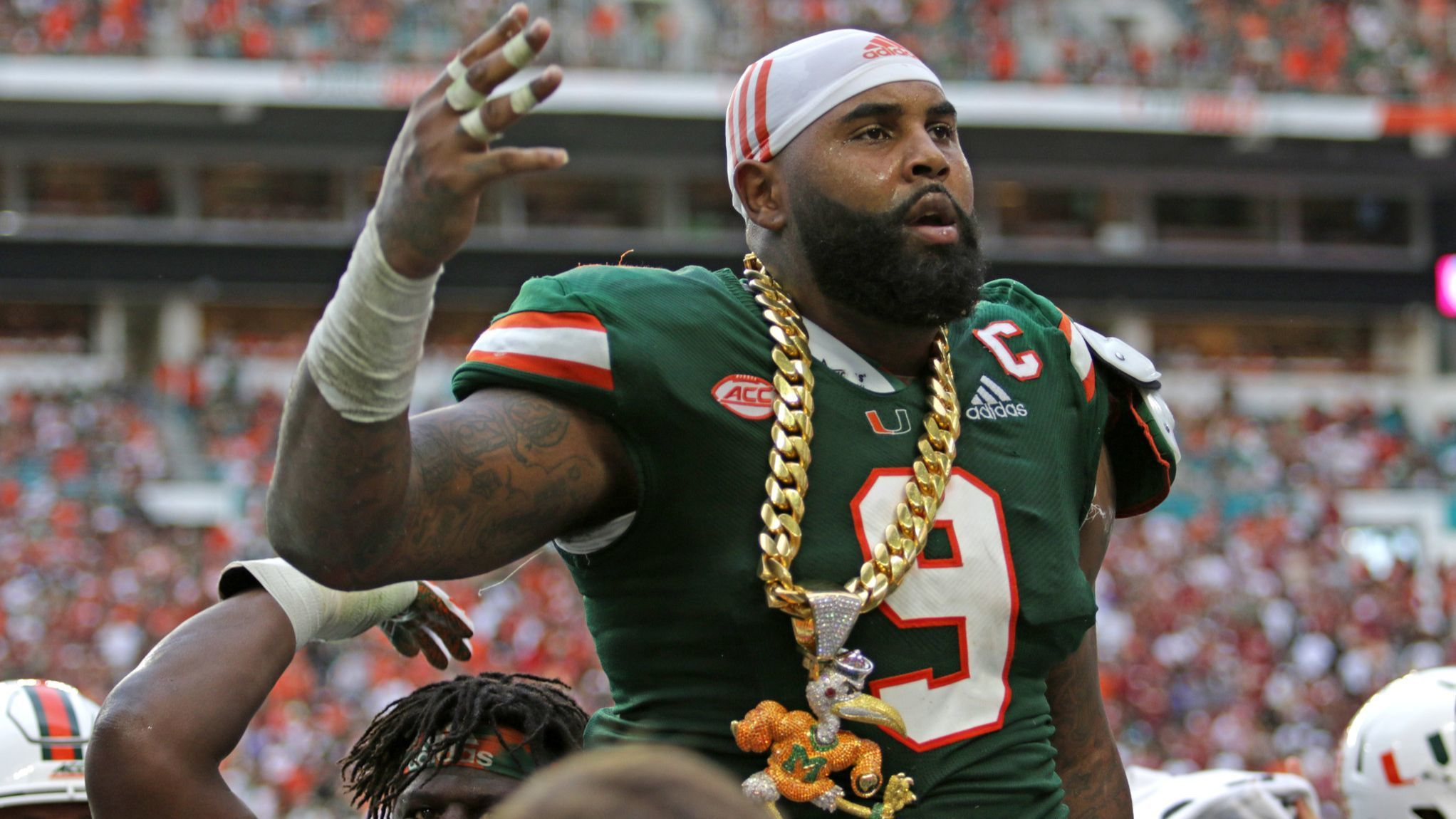 UM's Gerald Willis lands spot with Baltimore Ravens after surprising draft slide