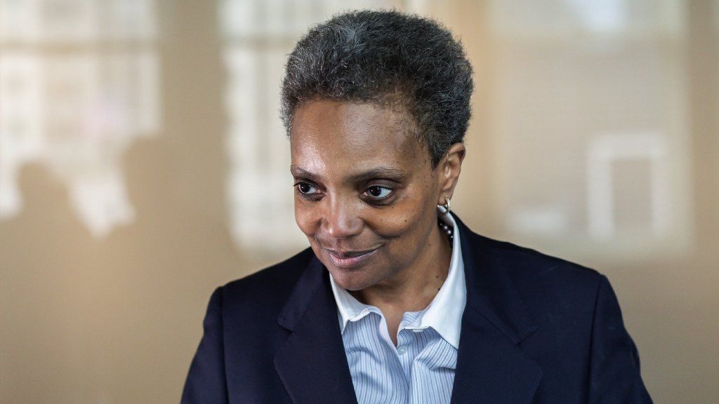 Chicago Mayor-elect Lori Lightfoot's planning a trip to Washington early next month, rep says