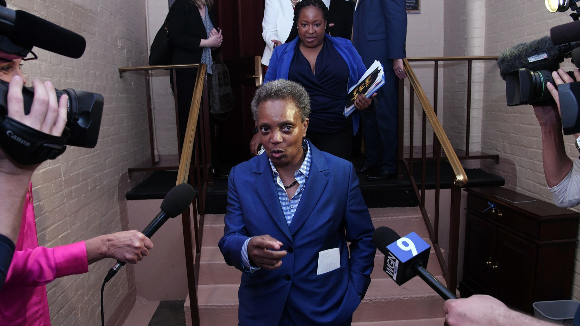 Chicago Mayor-elect Lori Lightfoot before returning from Washington: 'We are all in this together'