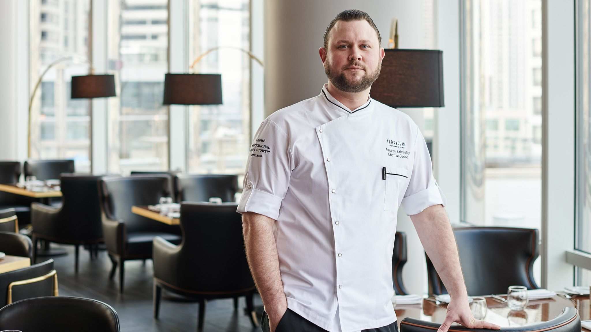 Terrace 16 gets new chef in time for summer on the Trump Tower perch overlooking the river