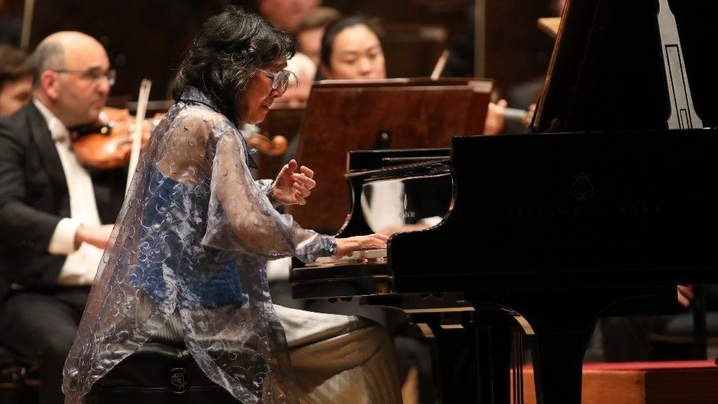 CSO review: Uchida and Muti join forces in sparkling Mozart