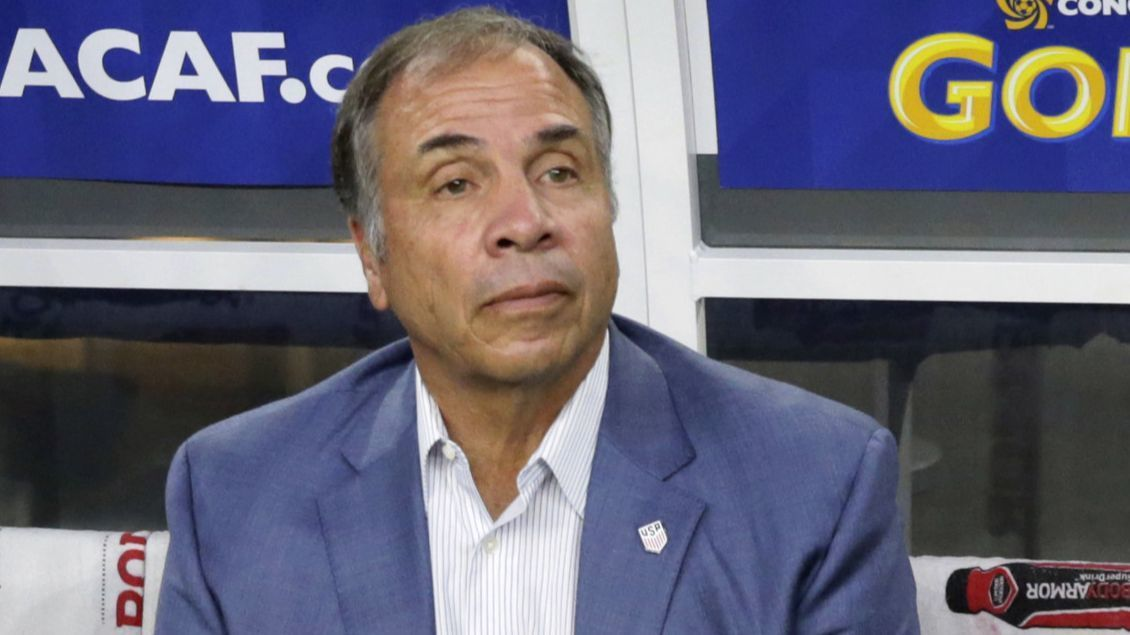 Bruce Arena is named coach of MLS' New England Revolution