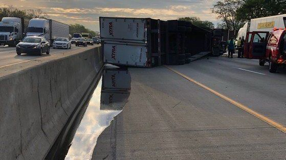 All lanes of Interstate 80/94 in Indiana reopen after cleanup of honey spilled across road