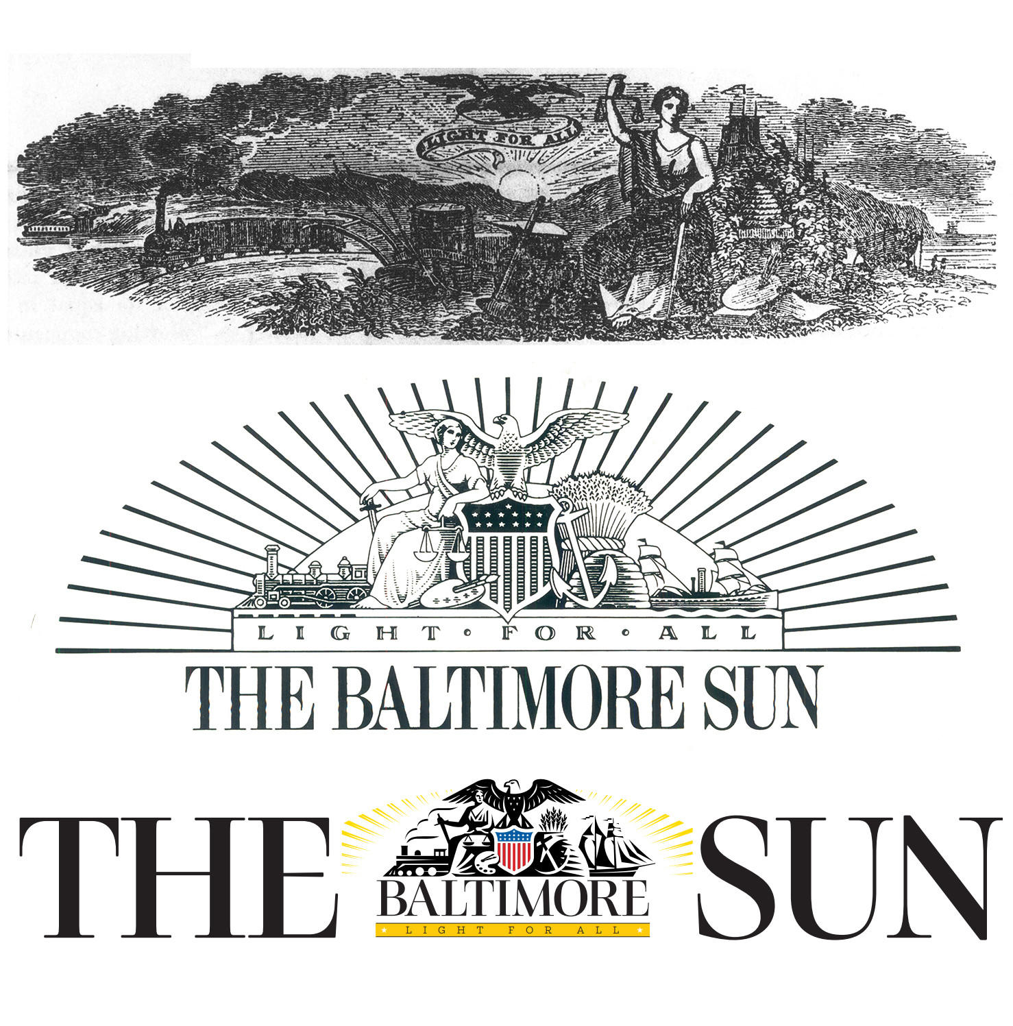 baltimore sun vignette through the years