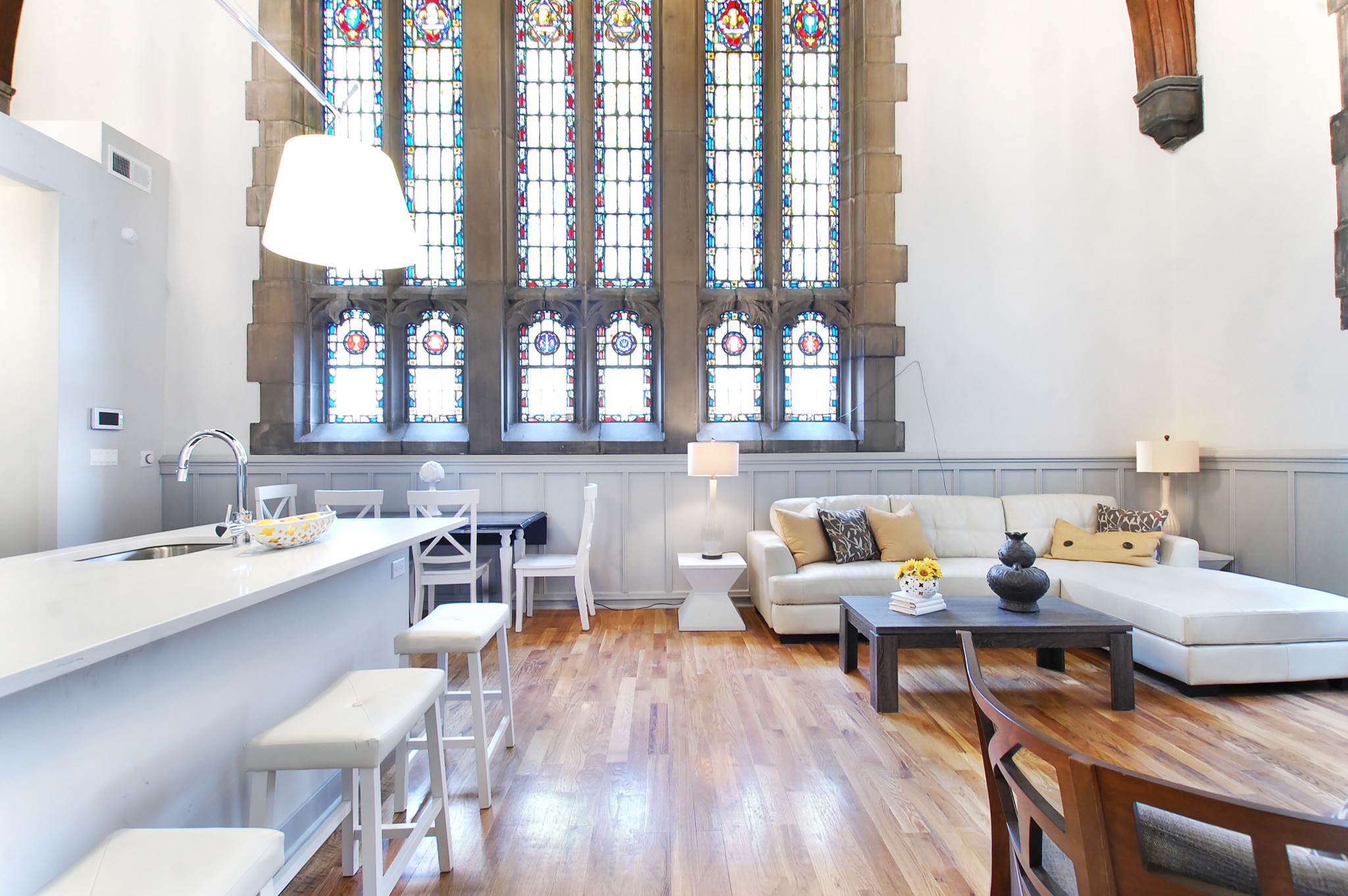 Logan Square church gets new life as 9 luxury apartments
