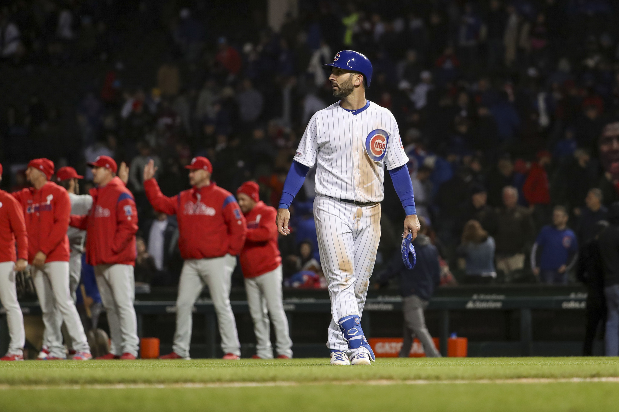 Jake Arrieta applauds the standing ovation from Cubs fans: 'I can't say thank you enough'