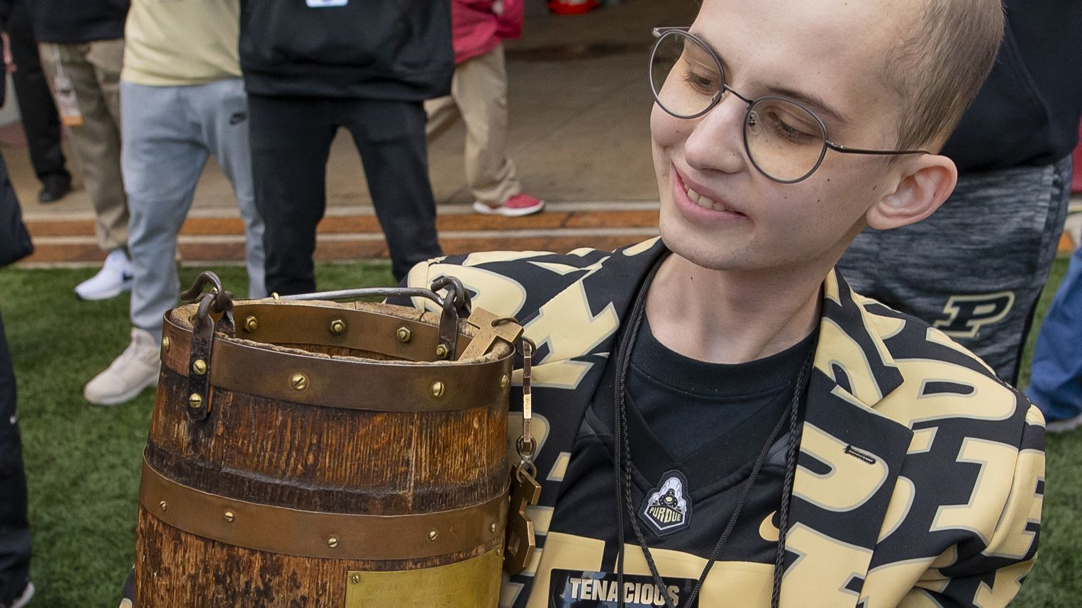 Cells from Tyler Trent, the Purdue fan who inspired many with his fight against cancer, will be used for research