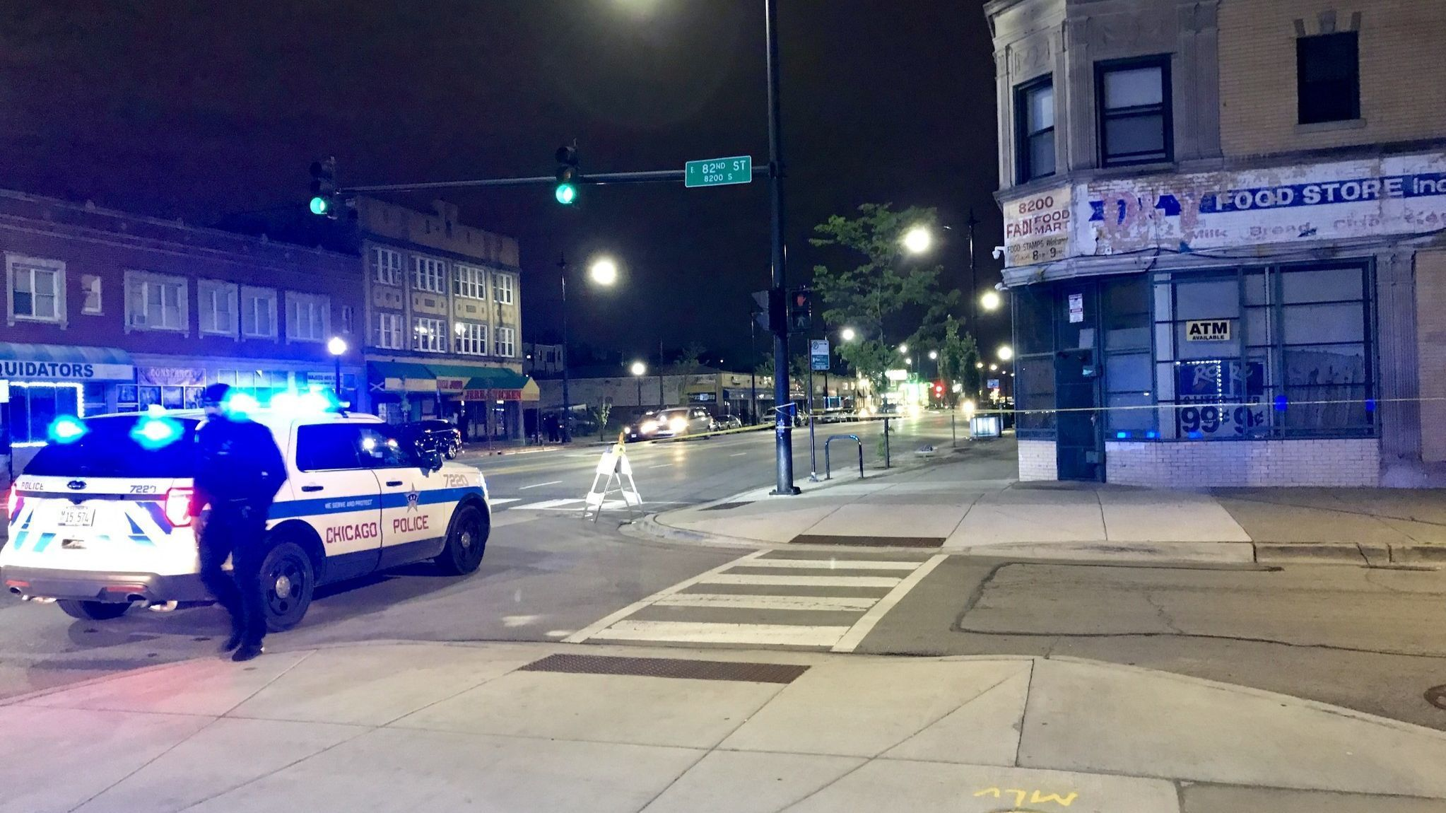 2 teens wounded in drive-by shooting on Chatham street corner
